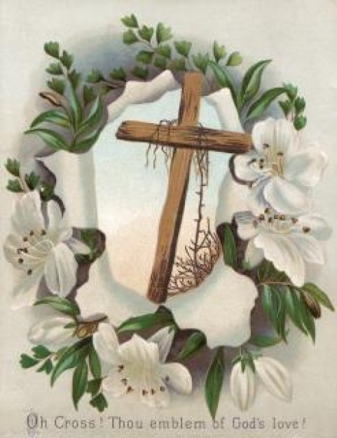 victorian-greeting-card-easter-cross-celebration_19-141892
