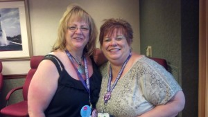 Me and Janet Juengling Snell