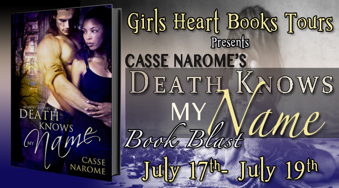 Death Knows My Name Book Blast