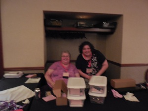 Here are the registration ladies! So nice and helpful!