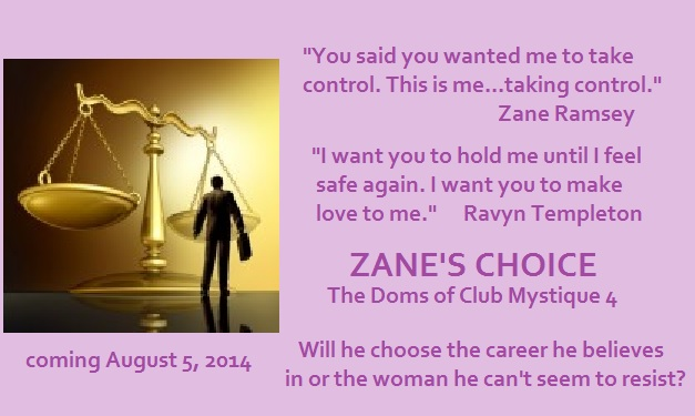 light purple Zanes Choice ad