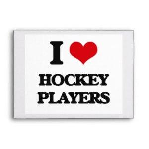 i love hockey players