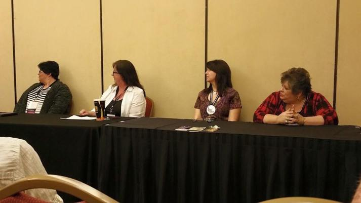 author panel with donna michaels
