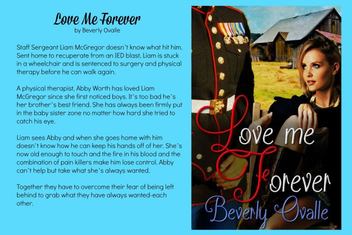 Love Me Forever cover blurb