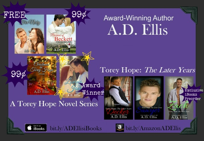Torey Hope Both Series iBooks with prices